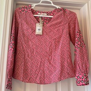 Boden Size 2 blouse New with tags